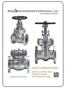 Beric Cast Steel Valves