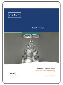 CRANE Cast Steel Valves