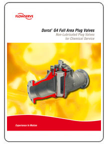 Durco G4 Full Area Plug Valves