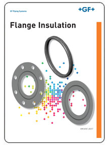 GF Central Plastics Flange Insulation