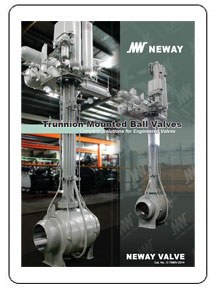 Neway Trunnion Mounted Ball Valves